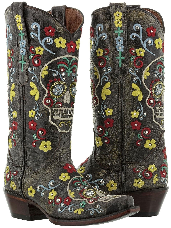 Boots My Sugar Skulls