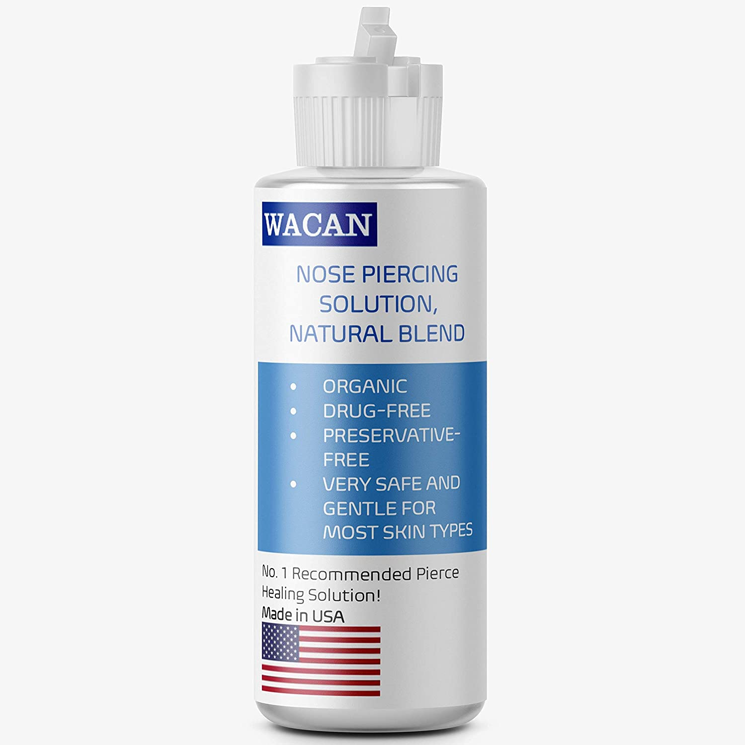 Amazon Com Wacan Fast Healing Piercing Solution Organic Drug Free