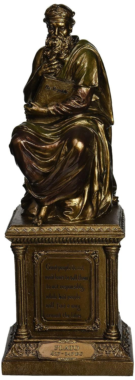 Design Toscano Platon, Meister der westlichen Philosophie, Statue