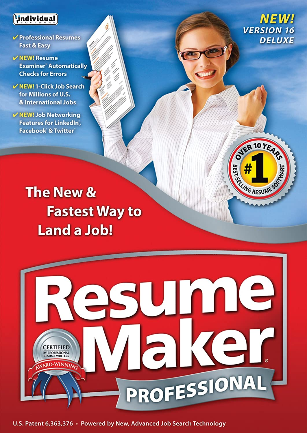 amazoncom resumemaker professional deluxe 16 download software - Resume Maker Professional Software Free Download