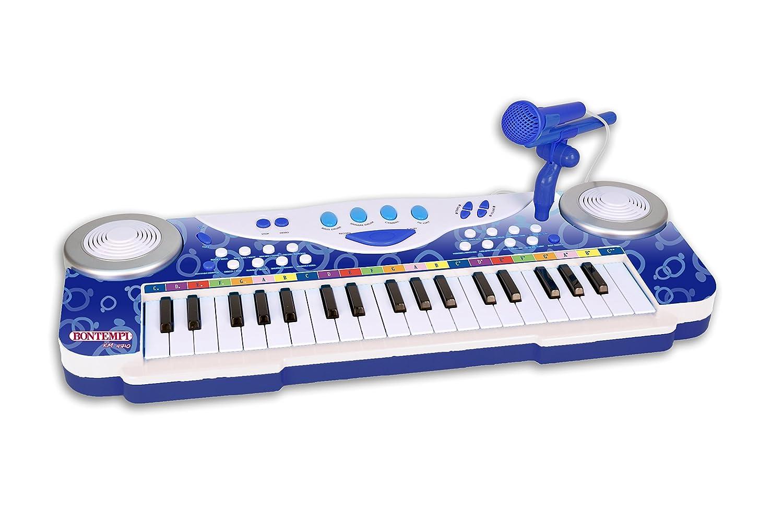 Bontempi - 123740 - Clavier Électronique 37 Touches/Micro ICOM 12 3740 Pianos et claviers