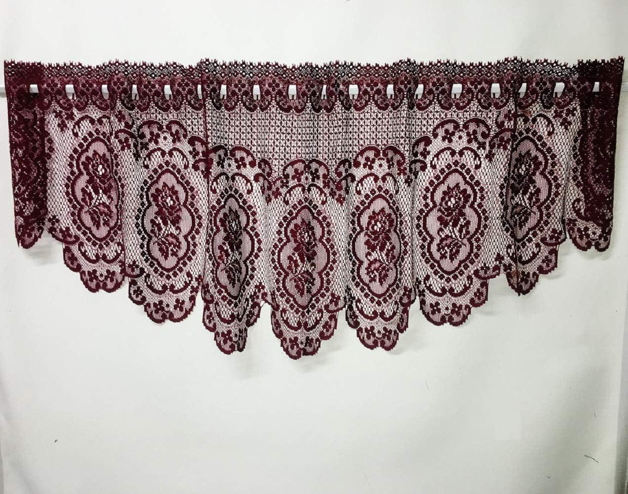 Heritage Lace Cameo Rose Festoon Valance