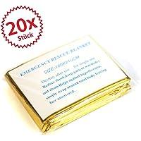 20x Rescate manta Oro/Plata 2,10* 1,60
