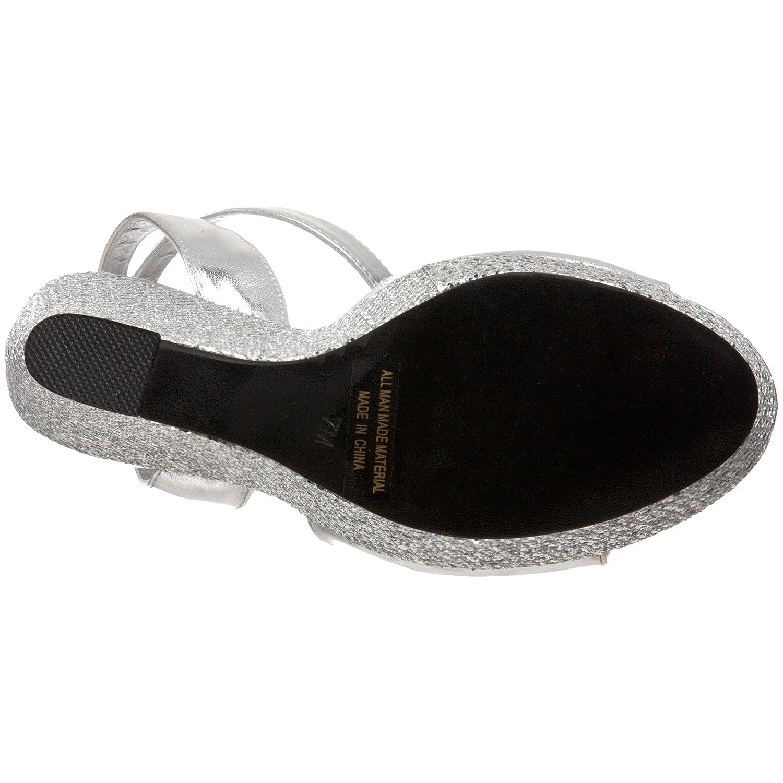 Touch Ups Women's Viviana Platform Sandal B0047Z775A 6.5 B(M) US Silver