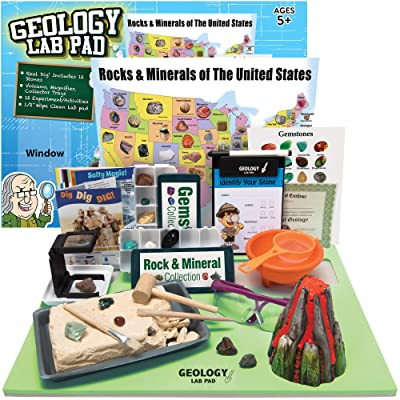 Ben Franklin Toys Geology Lab Pad Science Kit: Toys & Games