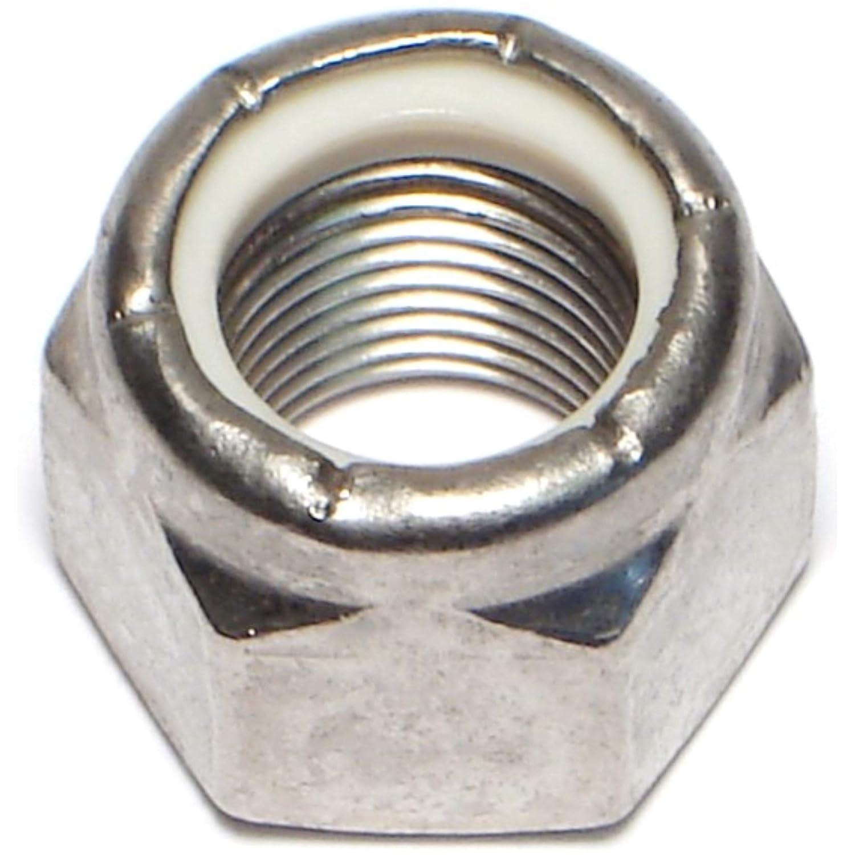 Hard-to-Find Fastener 014973192259 Fine Nylon Insert Lock Nuts, 5/8-18, Piece-3