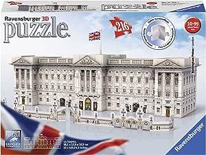 Ravensburger- Puzzle 3D Buckingham Palace 216 Piezas, Multicolor, Gift (12524): Amazon.es: Juguetes y juegos