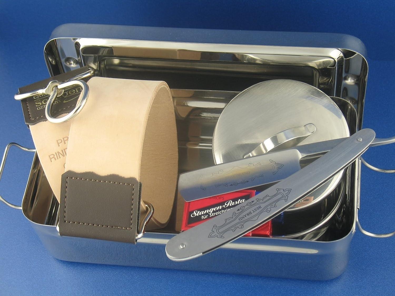5-Teiliges Geschenk-Set | Rasiermesser Set | Rasiermesser mit ...