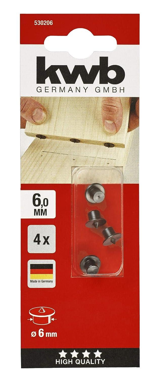 KWB 5302-06 Marcadores de espigar de 6 mm