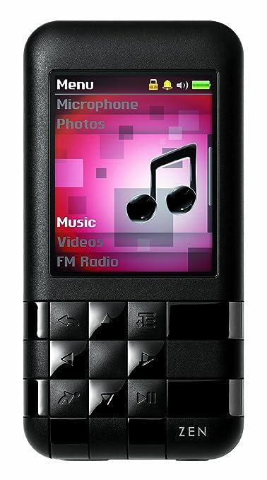 amazon com creative labs zen mozaic ez300 4 gb mp3 player black rh amazon com
