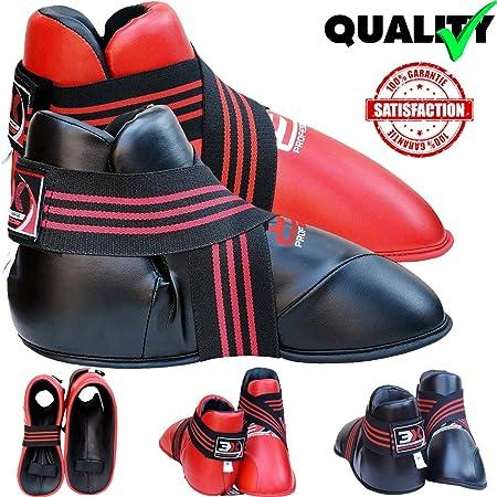 Semi Contact Foot Protectors Guards Instep Boots Karate Kick boxing Martial Arts