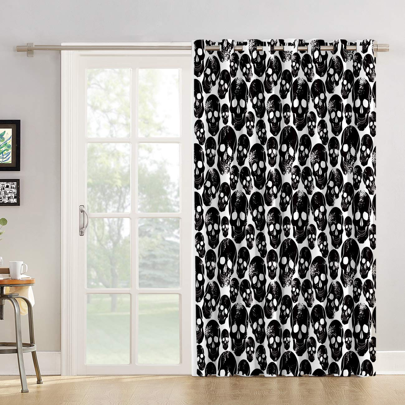 Arts Language Blackout Curtains Grommet Drapes For Boys Girls Kids Bedroom Rugby Basketball Softball Sport Printed Room Darkening Curtains Grommet For Livingroom Office 1 Panel 52x24in Curtain Panels