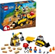 LEGO City Great Vehicles 60252 Construction Bulldozer Building Kit (126 Pieces)