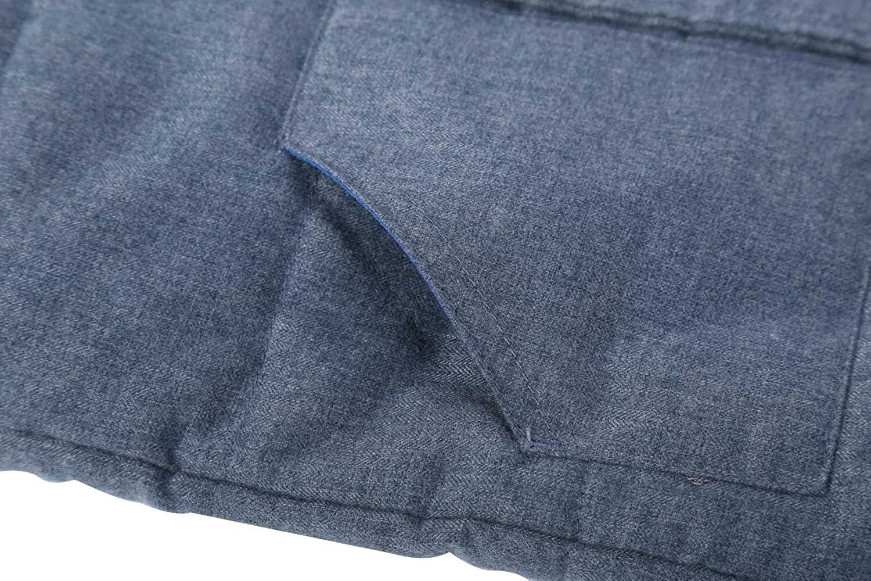 Bienzoe Kids Zip Quilted Sleeveless Warm Cotton-Padded Puff Vest