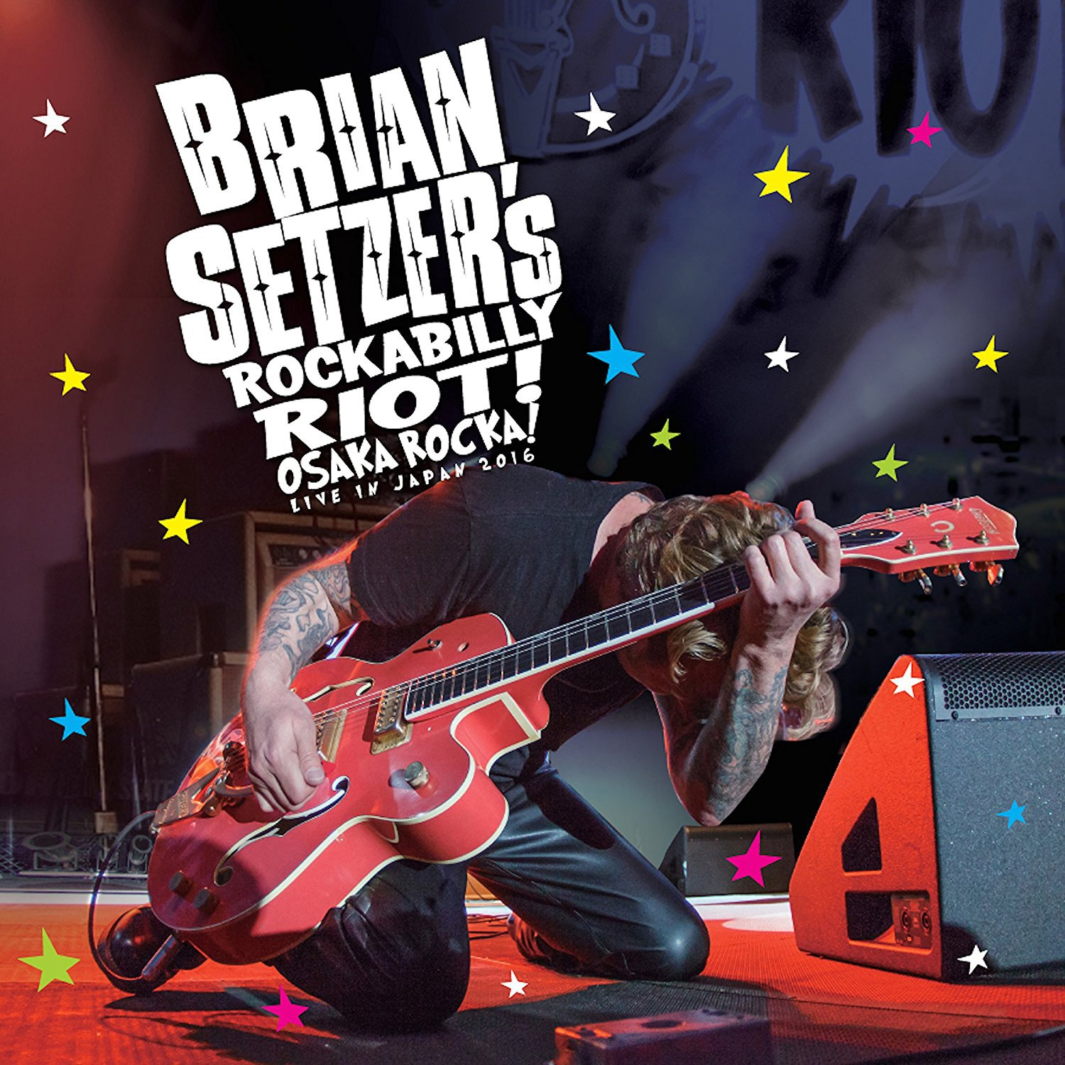Blu-ray : Brian Setzer - Rockabilly Riot: Osaka Rocka! - Live in Japan 2016 (With CD, 2 Disc)