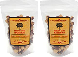 product image for Freddy Guys Hazelnuts, Dry Roasted (2 bags, 8 ounces each)