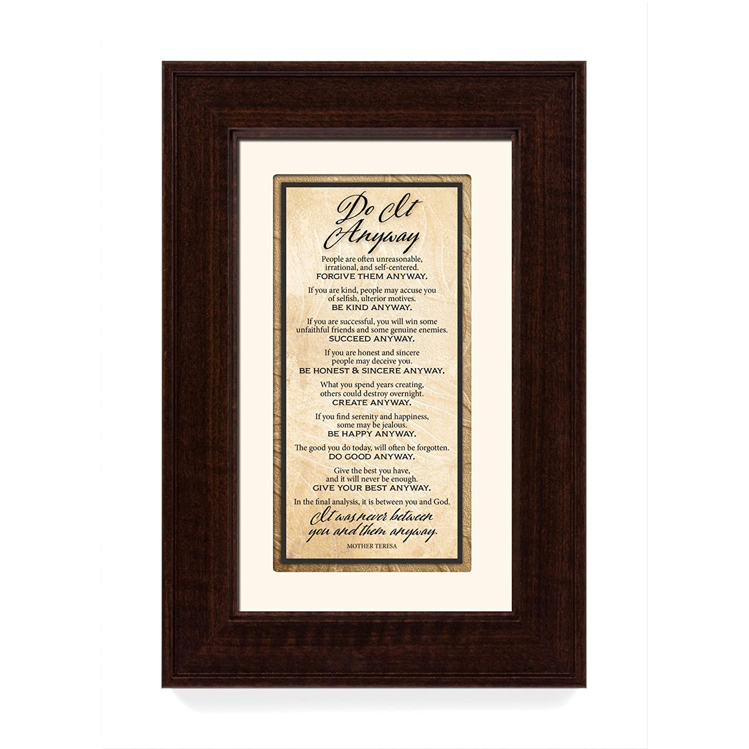James Lawrence Do it Anyway Traditions Framed Art