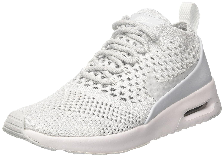 Nike Air MAX Thea Ultra Flyknit, Zapatillas para Mujer 37.5 EU Gris (Pure Platinum / Pure Platinum / White)