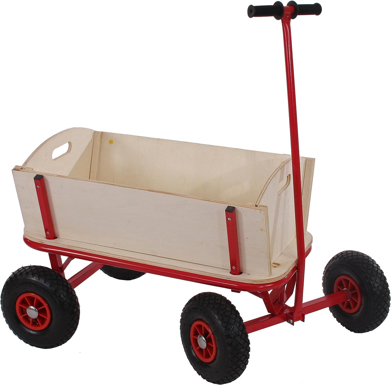 Bois 89x61cm Mendler Voiturette charrette /à Bras Chariot