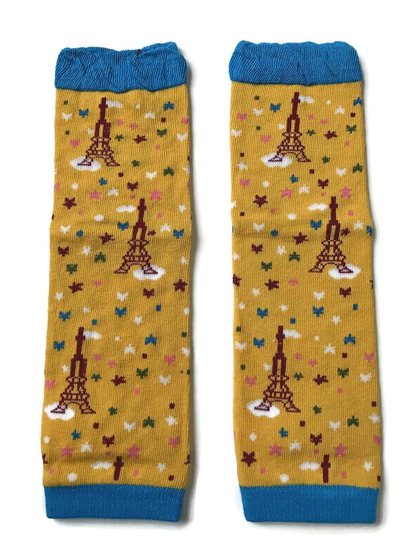 Rush Dance Paris Eiffel Tower for Boys or Girls Baby//Toddler Leg Warmers