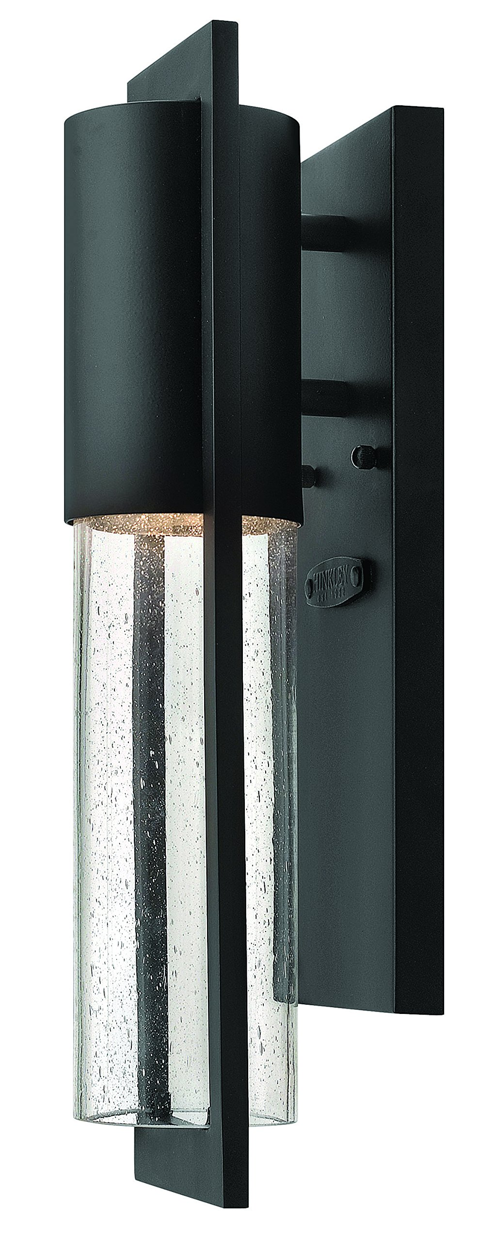 Hinkley 1326BK Transitional One Light Wall Mount from Shelter collection in Blackfinish,