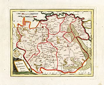 Antik map-brabant- \'S hertogenbosch-eindhoven-helmond ...