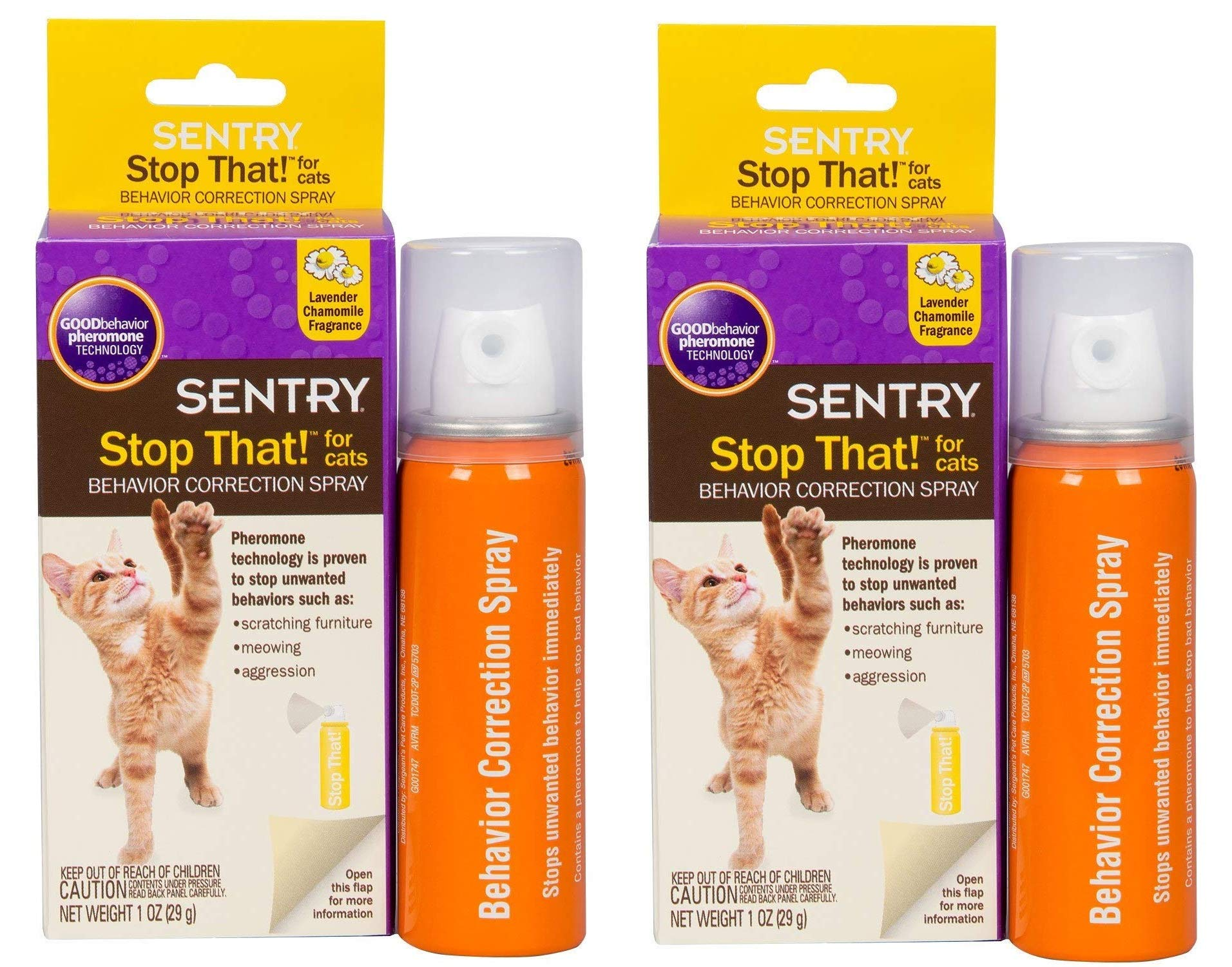 Stop That! for Cats, 2 oz by SENTRY Pet Care