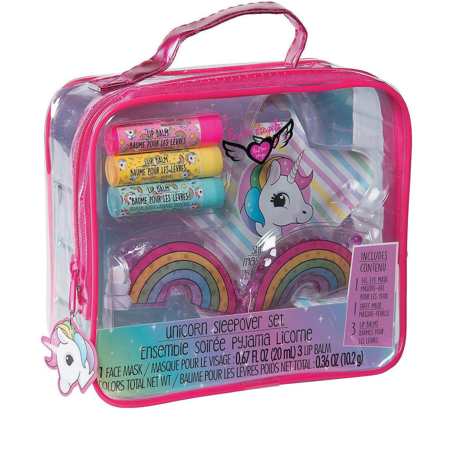 Amazon.com: Bargain World Unicorn Sleepover Set (With Sticky Notes): Home & Kitchen