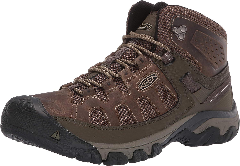 KEEN Men s Targhee Vent Mid Hiking Boot