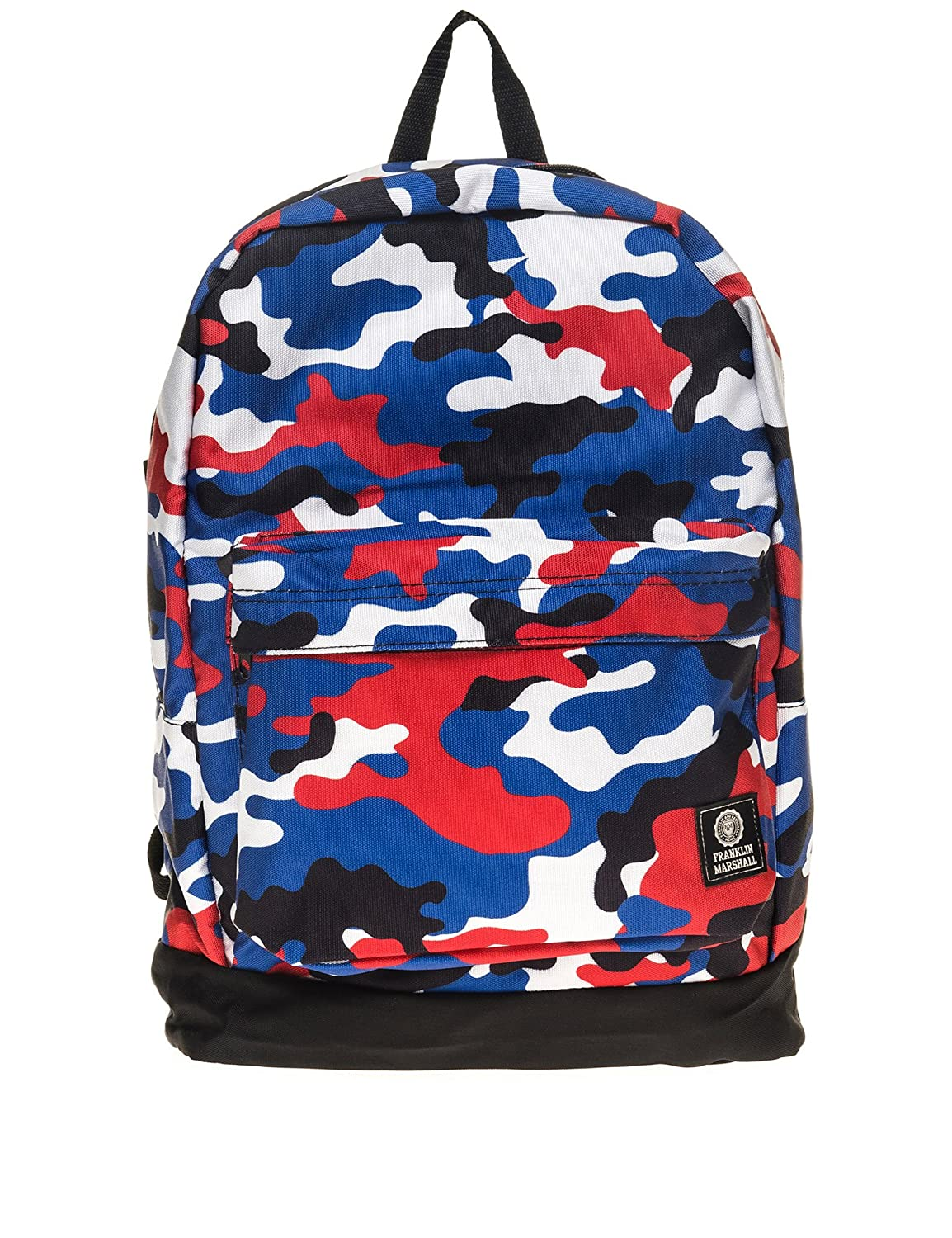 Franklin   Marshall Blue Mulit-Coloured Camoflauge Reversible Backpack One  Size  Amazon.co.uk  Shoes   Bags ee699013cf978