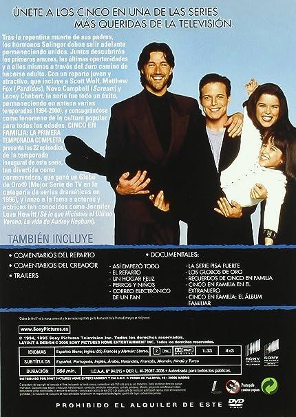 Cinco En Familia Import Dvd 2006 Scott Wolf