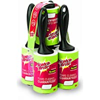 (5-Pack) - Scotch-Brite Lint Roller 5 Pack, 75 Sheets Total.