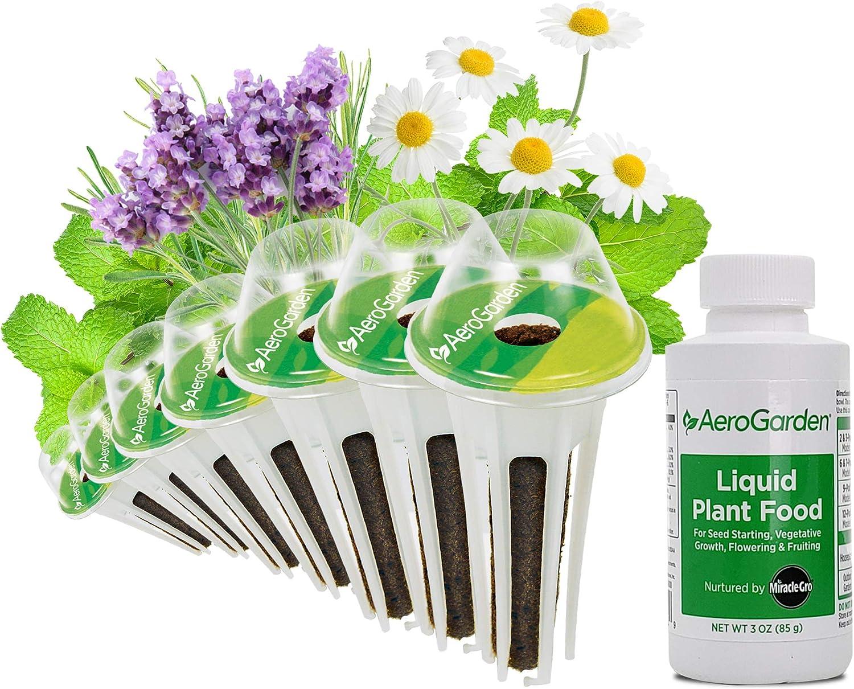 AeroGarden Fresh Tea Seed Pod Kit, 7