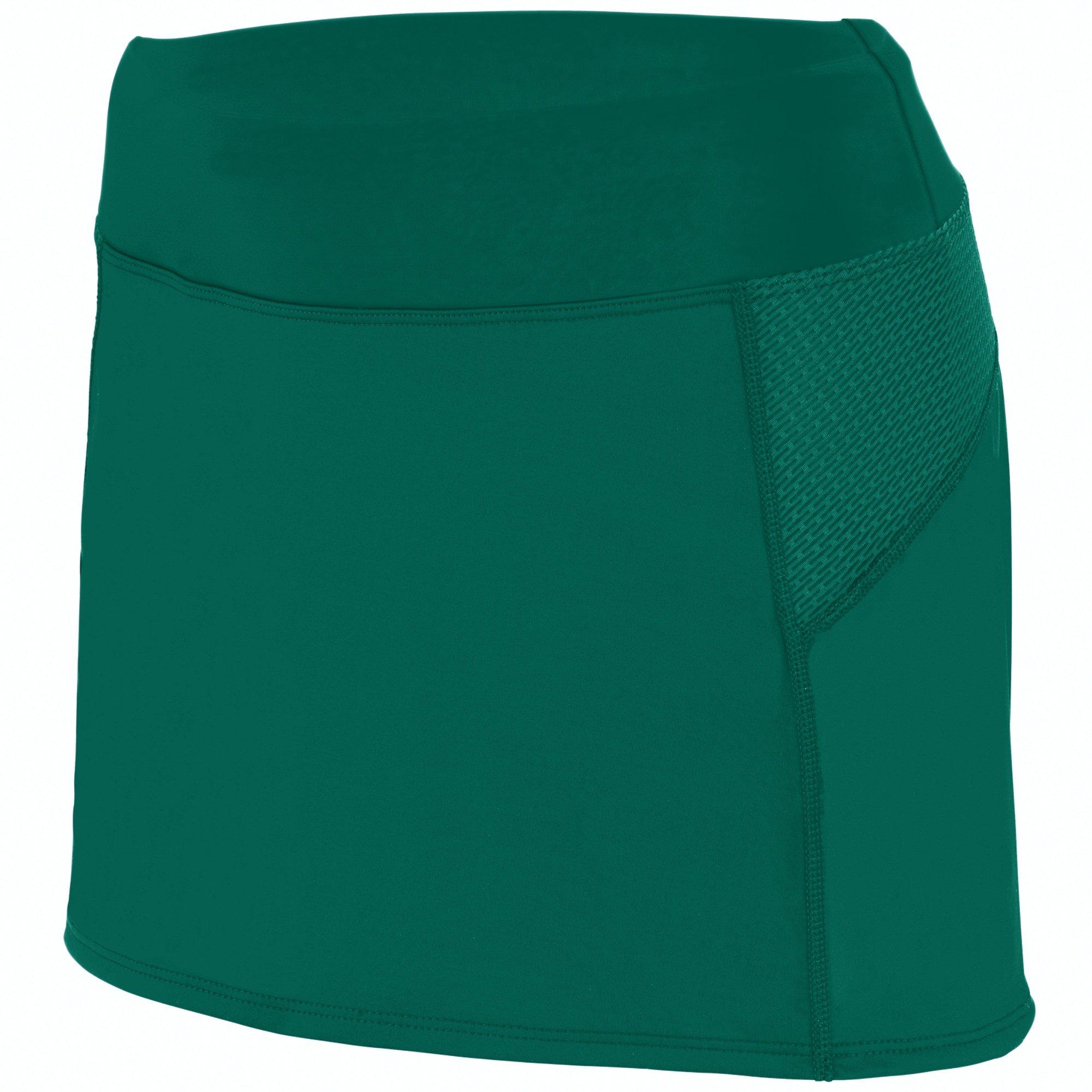 Augusta Sportswear Girls Femfit Skort S Dark Green/Graphite by Augusta Sportswear