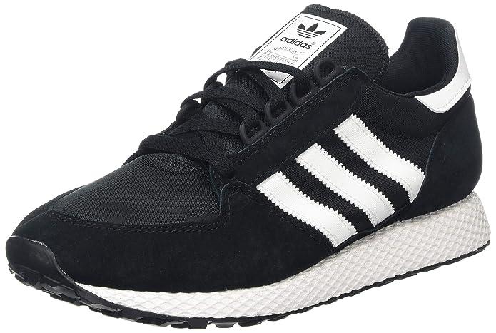 adidas Forest Grove Schuhe Herren schwarz mit weißen Streifen