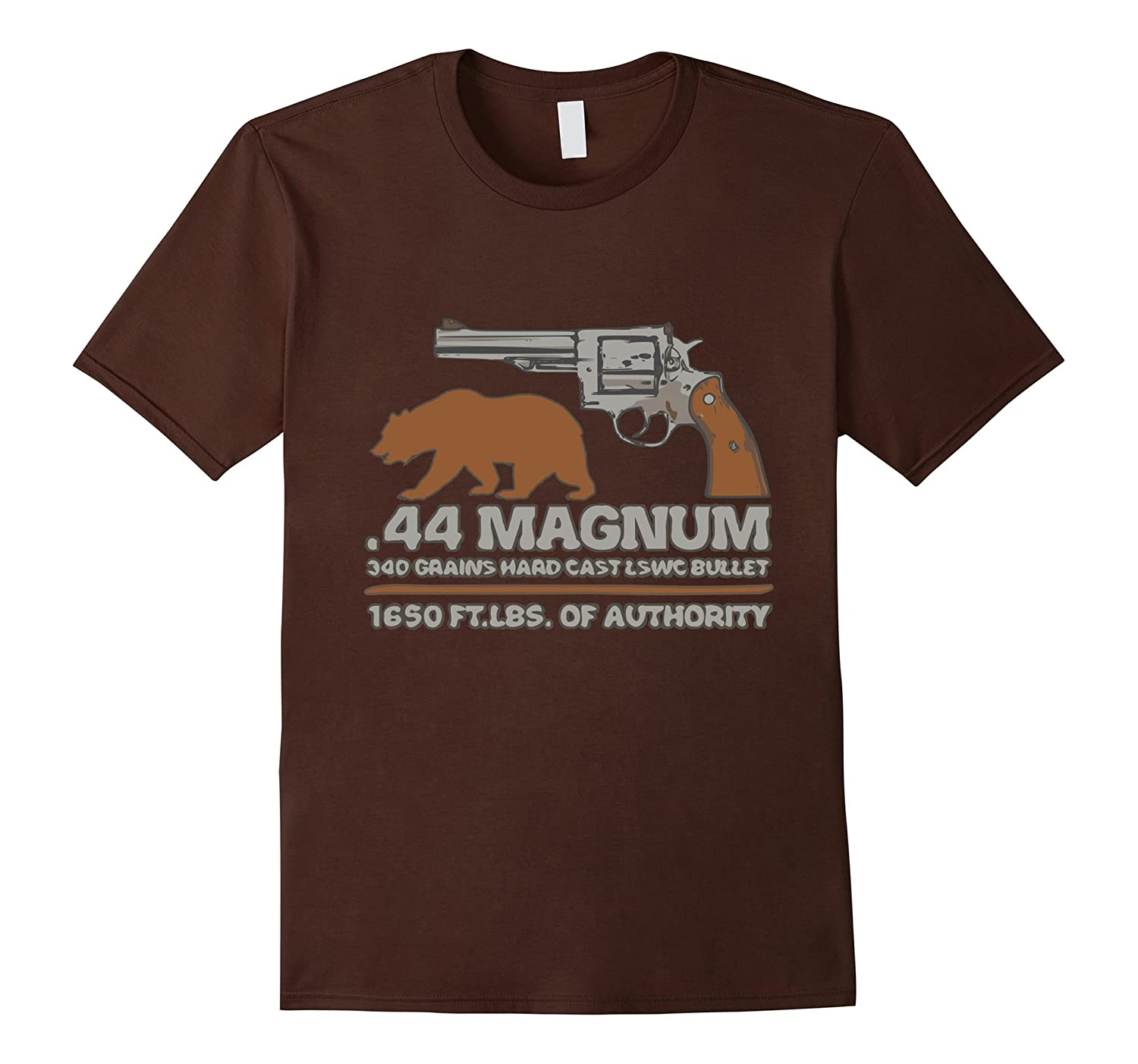 44 Magnum big bore hunting revolver, bear outdoor trail tee-TH