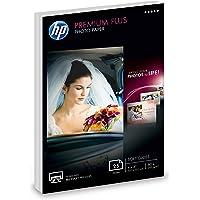 HP Premium Plus Photo Paper | Soft Gloss | 4x6 | 25 Sheets