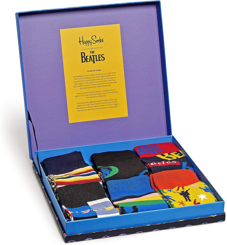 Happy Socks Beatles Gift Box Calcetines para Hombre: Amazon.es: Ropa y accesorios