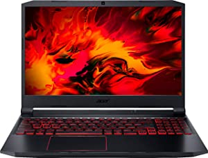 "Acer - Nitro 5 15.6"" Laptop - Intel Core i5 --10300H 8GB Memory - NVIDIA GeForce GTX 1650 - 256GB SSD - Obsidian Black"