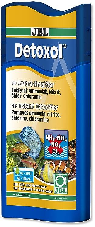 JBL Detoxol Sofort-Entgifter für gesundes Aquarienwasser 250ml ...