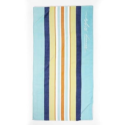 Tommy Hilfiger toalla de playa, de gran tamaño, centro de la raya