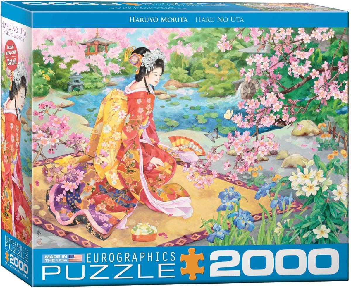 Toys 8220-0975 EuroGraphics Haru No uta by Haruyo Morita 2000-Piece Puzzle Eurographics