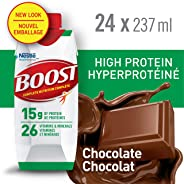 BOOST High Protein Chocolate Meal Replacement Drink, 24 x 237ml