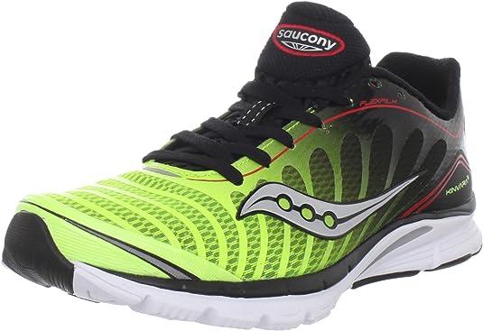 SAUCONY Pro Grid Kinvara 3 Zapatilla de Running Caballero, Negro/Blanco/Amarillo, 41: Amazon.es: Zapatos y complementos