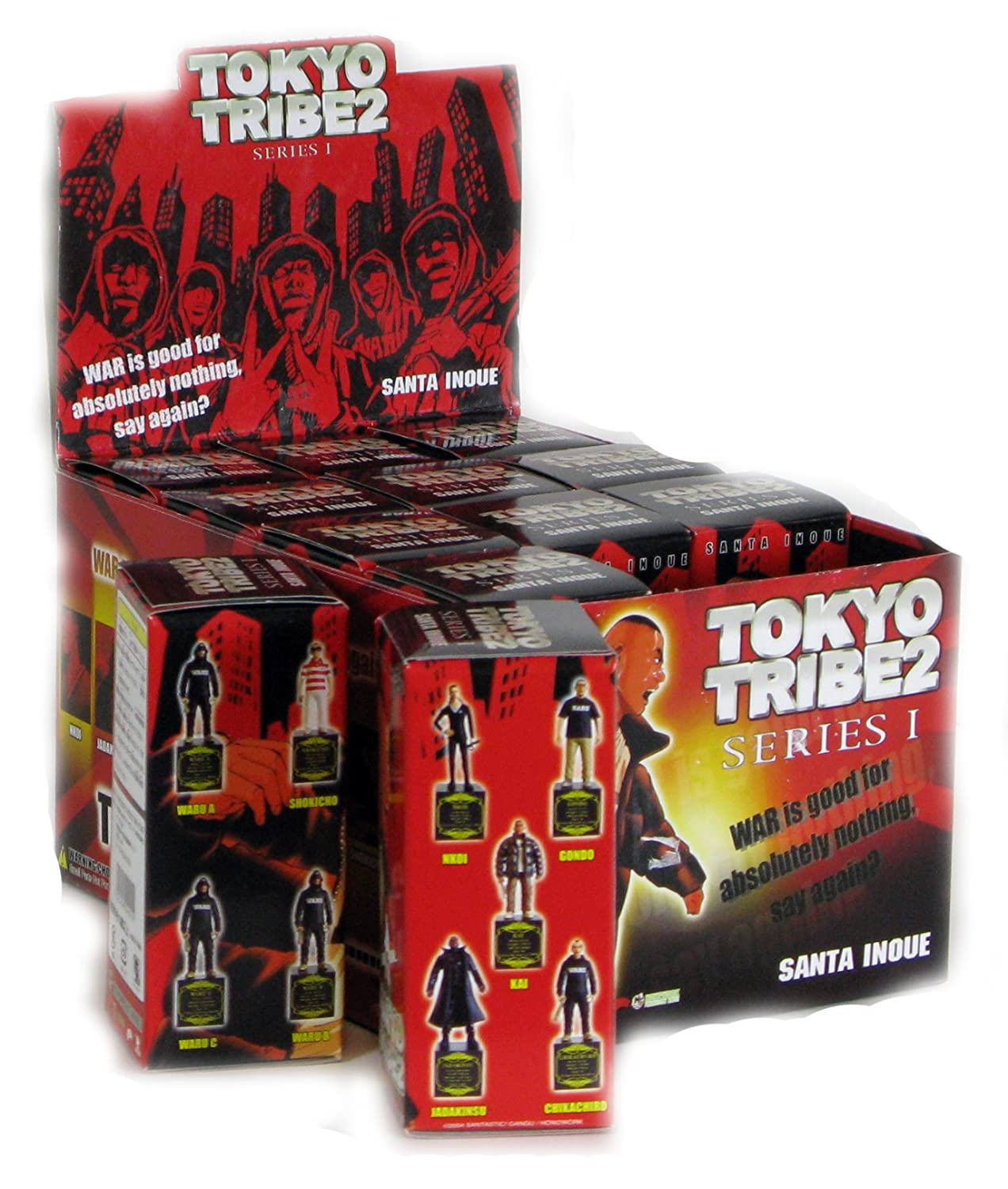 Tokyo Tribe 2 Figure Collection Limited Edition all nine sets
