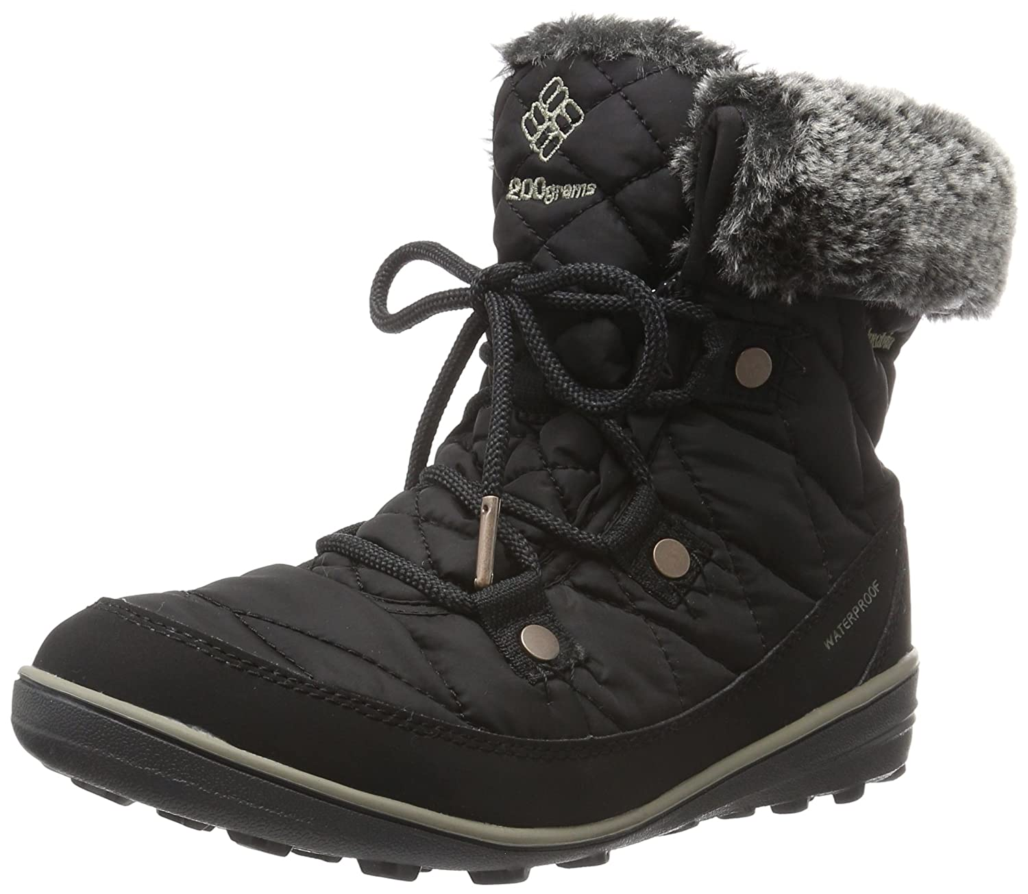 Columbia Women's Heavenly Shorty Omni-Heat Boot B0183M4SGS 8 B(M) US|Black/Kettle