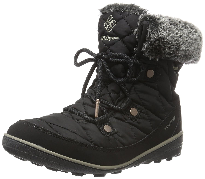 Columbia Women's Heavenly Shorty Omni-Heat Boot B0183M4LW4 7 B(M) US|Black/Kettle
