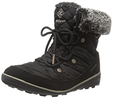 Columbia Women's Heavenly Shorty OmniHeat Black/Kettle Boot 5 B