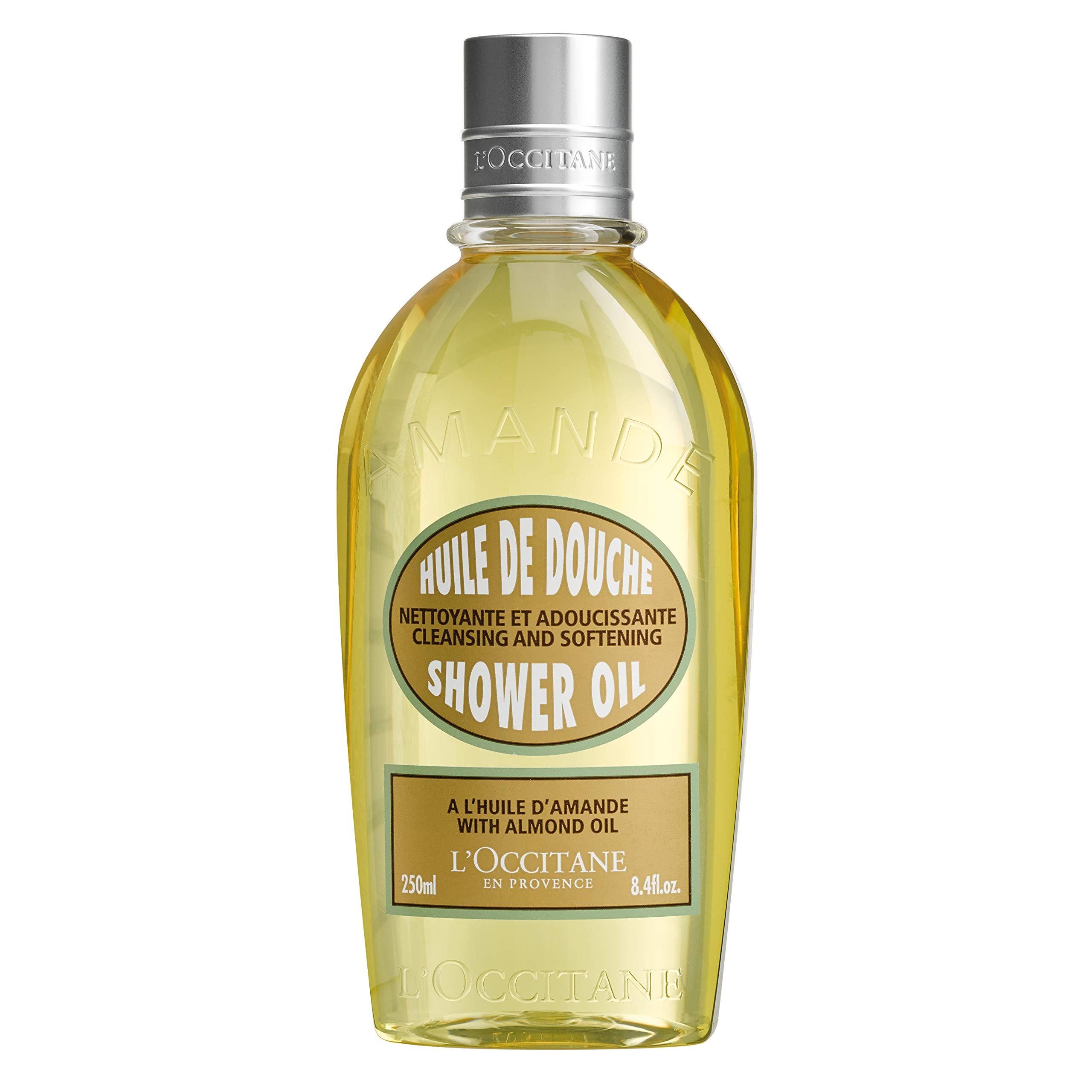 L'Occitane Cleansing & Softening Almond Shower Oil, 8.4 fl. oz. by L'Occitane