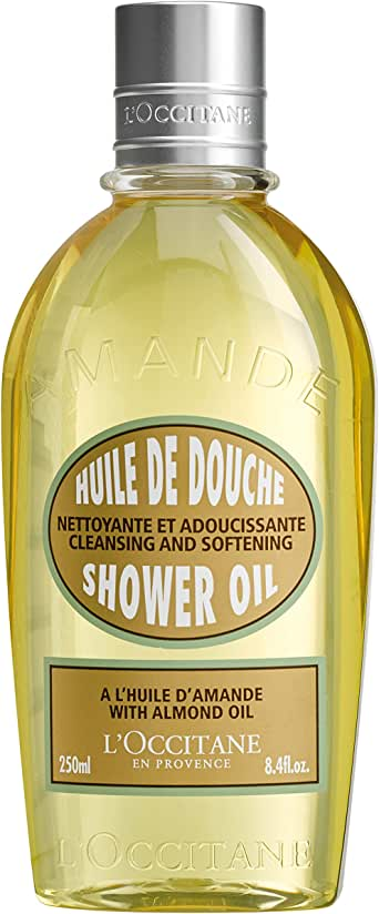 Loccitane Almond Cleansing & Softening Shower Oil by Loccitane for Unisex - 8.4 oz Shower Oil, 252 milliliters
